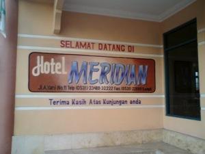 Hotel tempat menginap, aman dan nyaman