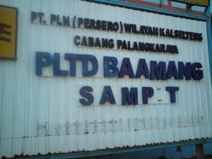 PLTD Baamang, tulang punggung sistem kelistrikan Sampit