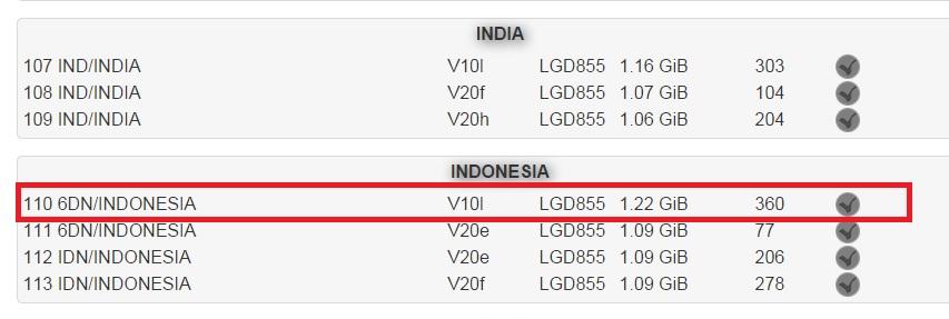 firrware LG G3